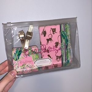 Lily Pulitzer 4 in 1 Travel Set